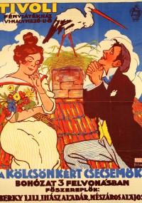 A Kölcsönkért csecsemök (1914) plakat