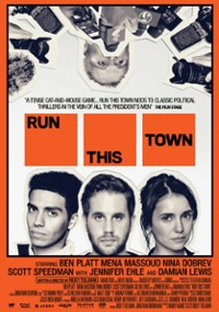Run This Town (2019) plakat