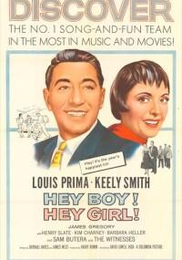 Hey Boy! Hey Girl (1959) plakat