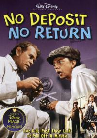 No Deposit, No Return (1976) plakat