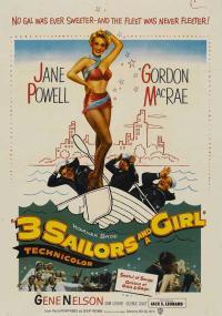 Three Sailors and a Girl (1953) plakat