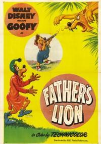 Lew tatusia (1952) plakat