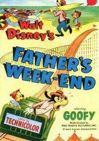 Weekend taty (1953) plakat