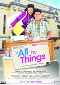 Of All the Things (2012) plakat