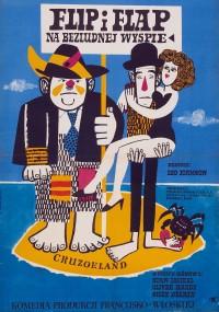 Flip i Flap na bezludnej wyspie (1951) plakat