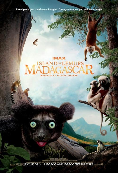 Lemury z Madagaskaru 3D