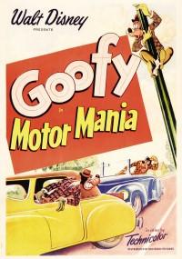 Szaleństwo motoryzacji (1950) plakat