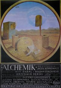Alchemik (1988) plakat