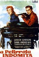 Dziwna dama w mieście (1955) plakat