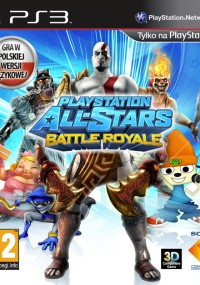 PlayStation All-Stars: Battle Royale (2012) plakat