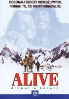 plakat - Alive, dramat w Andach (1993)