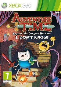 Adventure Time: Explore the Dungeon Because I DON'T KNOW! (2013) plakat