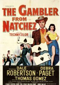 The Gambler from Natchez (1954) plakat