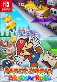 Paper Mario: The Origami King (2020) plakat