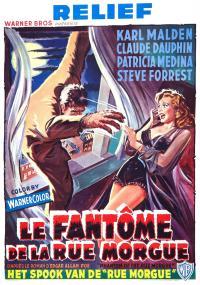 Phantom of the Rue Morgue (1954) plakat