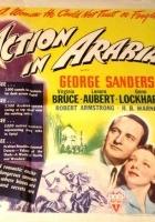 Action in Arabia (1944) plakat
