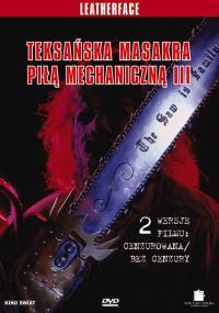 Teksańska masakra piłą mechaniczną 3 (1990) plakat