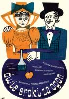 plakat - Za dvumya zaytsami (1961)