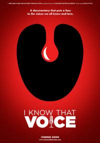 I Know That Voice (2013) plakat