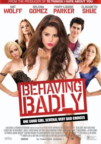 Behaving Badly (2014) plakat