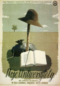 Moje uniwersytety (1940) plakat
