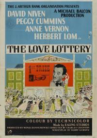 The Love Lottery (1954) plakat