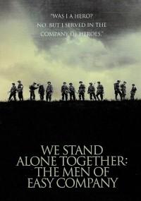 W jedności siła. Żołnierze Kompanii E (2001) plakat