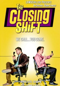 The Closing Shift (2011) plakat