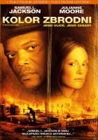 plakat - Kolor zbrodni (2006)