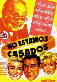 Uprzejmie informujemy, że nie są państwo małżeństwem (1952) plakat