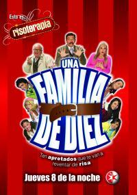 Una Familia de diez (2007) plakat