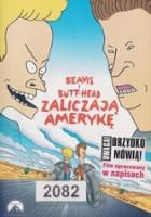 plakat - Beavis i Butt-Head zaliczają Amerykę (1996)