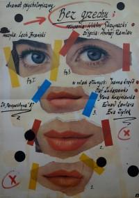 Bez grzechu (1987) plakat