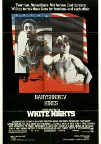 Białe noce (1985) plakat