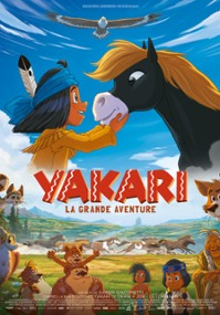 Yakari i wielka podróż (2020) plakat