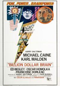 Mózg za miliard dolarów (1967) plakat