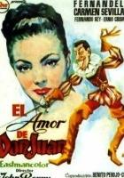 Miłość Don Juana (1956) plakat