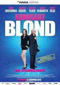 Komisarz Blond i Oko sprawiedliwości (2012) plakat