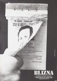 Blizna (1976) plakat