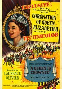 A Queen Is Crowned (1953) plakat