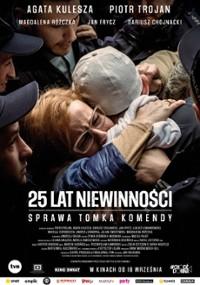 25 lat niewinności. Sprawa Tomka Komendy (2020) plakat