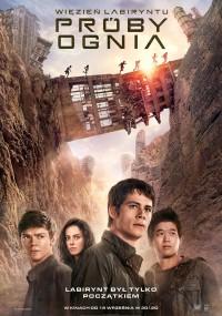 Więzień labiryntu: Próby ognia (2015) plakat