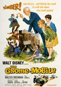 The Gnome-Mobile (1967) plakat
