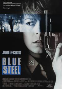 Błękitna stal (1990) plakat