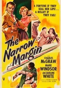 Wąska krawędź (1952) plakat