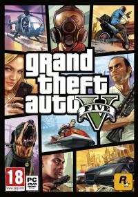 Grand Theft Auto V (2013) plakat