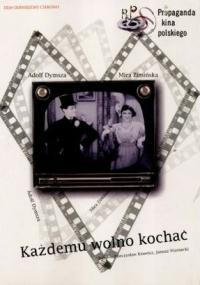 Każdemu wolno kochać (1933) plakat