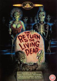 Powrót żywych trupów (1985) plakat