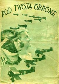 Pod Twoją obronę (1933) plakat