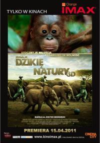 Dzikie z natury 3D (2011) plakat